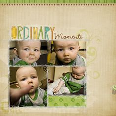 Layout by Rachael #scrapbook #layout