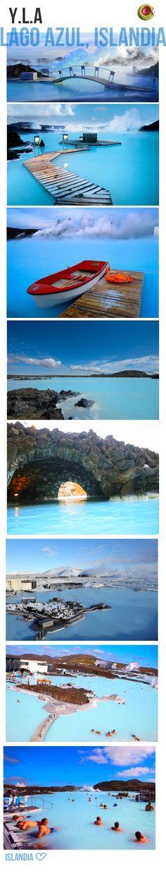 Laguna azul de #Islandia #Iceland