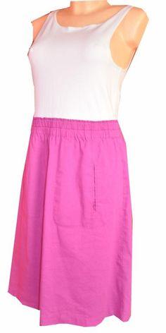 THEORY ELIDY sukienka TUNIKA BIAŁO- RÓŻOWA 12 M 38