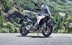 Download wallpapers Yamaha Tracer 900, superbikes, 2018 bikes, japanese motorcycles, Yamaha