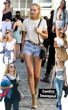 Steal Her Style: Candice Swanepoel | STEAL THE LOOK