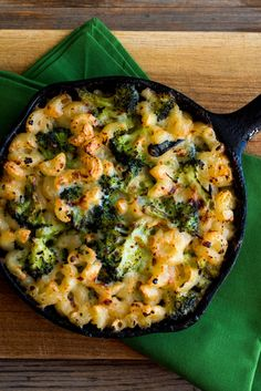 NYT Cooking: This is a macaroni and cheese that's not too heavy and benefits mightily from the use of whole-wheat pasta and the addition of broccoli. You can assemble it ahead and bake it when you need it, or bake it ahead and reheat. There are a number of excellent whole wheat macaroni products on the market now. Check out Community Grains and MagNoodles. When you cook the macaroni, be sure to cook it for less time than usual so that it is more al dente