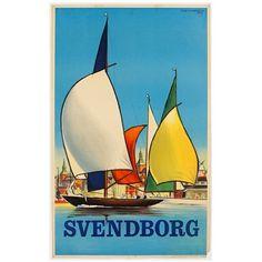 """"""" Svendborg """"   Dansk Plakatmuseums Webshop"""