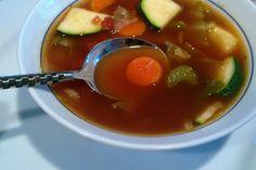 My Mother's Version: Weight Watcher's 0 Points Vegetable Soup. Photo by FLKeysJen