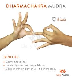 Mudras - Want to get Continuous flow of energy? Meditation Exercises, Yoga Mantras, Yoga Exercises, Finger Yoga, Usui Reiki, Hand Mudras, Qi Gong, Mindfulness Meditation, Massage Therapy