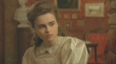 a young Helena Bonham Carter