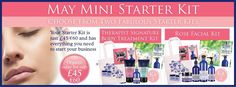 £45 for your mini joining kit and supply yourself or sell as a business. All the wonderful details can be found at uk.nyrorganic.com/shop/sarah_hannant  Go organic and feel all the benefits