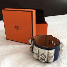 Hermes Collier De Chien (Cdc) Bracelet Cuff