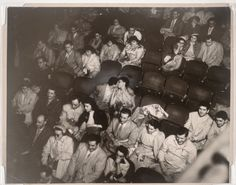 """Weegee, """"Audience Palace Theater"""" (All Things Amazing)"""