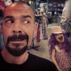Lol, that mannequin is terrifying!!  #GAC