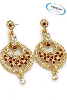 Amazing Diamond Fashion Earrings