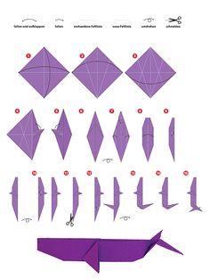 Wettbewerb: Basteln für den Meeresschutz! Ein quadratisches #Origami-Papier und…