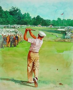 Selecting the Right Golf Club - Golf Pro Tips Golf Painting, Golf Images, Golf Cards, Best Golf Clubs, Woods Golf, Vintage Golf, Golf Channel, Golf Player, Sports Art