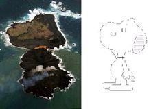 attrip:  Twitter / h4nso1o: 小笠原の新島が隣の西之島と繋がっただと!? 確認するぞギブス …