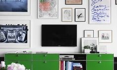 Artful Ways to Display a Television