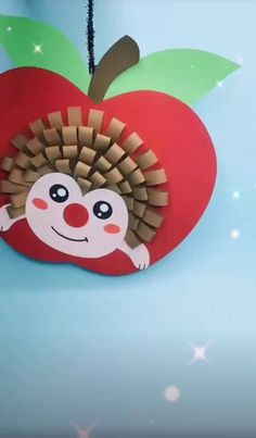 Easy Hedgehog Crafts for Kids Fall Crafts For Toddlers, Cute Kids Crafts, Autumn Activities For Kids, Halloween Crafts For Kids, Paper Crafts For Kids, Christmas Crafts For Kids, Toddler Crafts, Preschool Crafts, Diy Paper