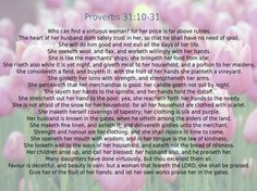 I want to become a Proverbs 31 woman/wife/mother