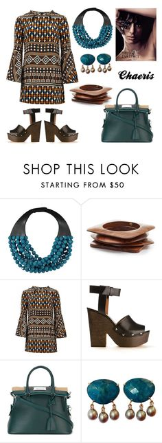 Tribal Instinct by chaeris on Polyvore featuring Gucci, Givenchy, Maison Margiela, Fairchild Baldwin and Kenneth Jay Lane