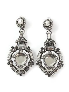 Lanvin Embellished Earrings | Jewelry and Accessory