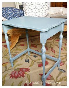 Vintage table ~ Chalk Paint