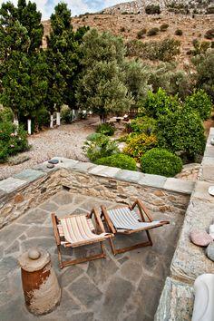 outdoor living - Loutra villa