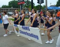 Rams Cheerleading-Wheaton Park District Fundraises with BoosterShot  http://www.goboostershot.com/store/  #fundraising #nonprofitfundraising #schoolfundraising #youthsports