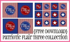 Labor Day printables