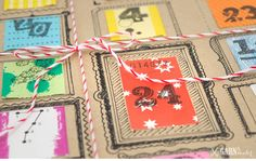 garnundmehr_baeckergarn_advent_feinebilletterie_wertmarken_christmas_24 Christmas 24, Xmas, Gift Wrapping, Gifts, Paper, Scissors, Holiday, Advent Calenders, Threading