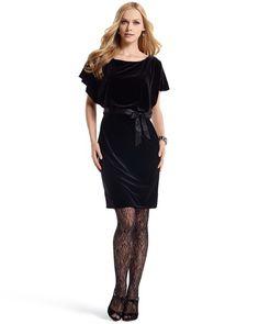velvet whbm dress