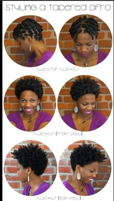 Tapered fro styling