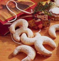 niña levadura: Vanillekipferl (galletas tradicionales autriacas)