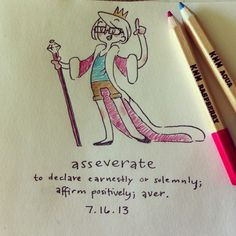 Word of the Day: Week 2 by Erin Barker, via Behance