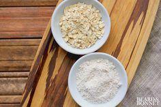 Make your own gluten-free flour with oats. Easy, healthy and delicious in every way. See how to do it here. http://www.beardandbonnet.com/how-to-make-your-own-gluten-free-oat-flour/