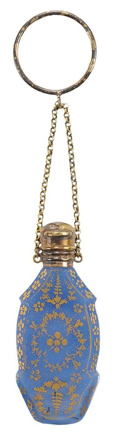 Bottle, English, late 18th, early 19th century.
