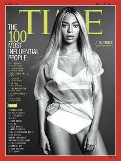 Beyoncé é capa de edição especial da Time com as 100 pessoas mais influentes
