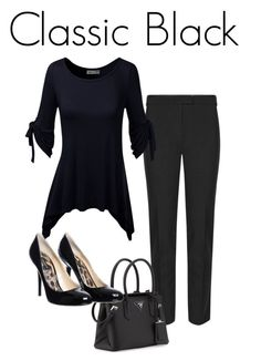 """Classic Black"" by pene-sullivan on Polyvore"