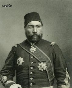 An poster sized print, approx (other products available) - OSMAN NURI PASHA Turkish soldier and statesman, defender of Plevna 1877 Date: 1837 - 1900 - Image supplied by Mary Evans Prints Online - Poster printed in the USA Fine Art Prints, Framed Prints, Canvas Prints, Turkish Soldiers, Ottoman Turks, Islam, Ottoman Empire, Poster Size Prints, Online Printing