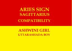 Ashwini Uttrashada Nakshatra Compatibility Sagittarius Compatibility, Aries And Sagittarius, Aries Sign, Marriage Astrology, Vedic Astrology, Marriage Relationship, Love And Marriage, Aries