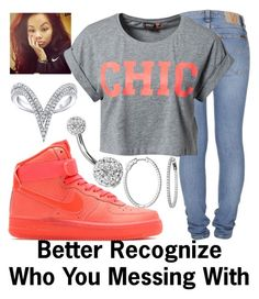 """""""Recognize~~"""" by ja-la ❤ liked on Polyvore featuring Bling Jewelry, NIKE, Nudie Jeans Co. and ONLY"""