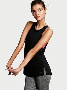 The Player by Victoria's Secret Logo Tank