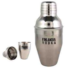 7oz Stainless steel martini shaker. Set includes drink mixer, strainer and jigger cap. Packed in a white gift box. Whether you prefer it shaken or stirred, this classic set inspires the perfect martini!