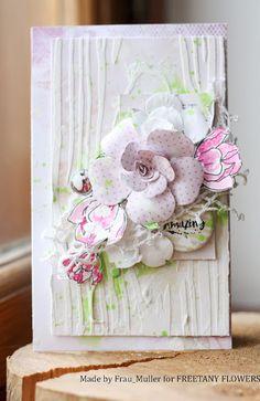 """Ташины проделки: Задание октября """"Двери"""" + ОЭ цветы."""