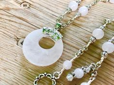 Rose quartz is the crystal of love and a popular feng shui cure. Rose quartz promotes a nourishing flow of loving energy and attracts love! This uniquely handcrafted Rose Quartz Necklace from Simply Charmed Jewelry it full of this Semi Precious Stone from the pendant to the beading throughout. I Handmade Necklaces, Handcrafted Jewelry, True Gift, 1 Rose, Lava Bracelet, Sparkly Jewelry, Pretty Necklaces, Quartz Necklace, Necklace Lengths
