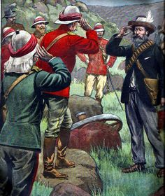 Capitulation of Boer general Cronje Military Art, Military History, South Afrika, History Of England, British Colonial, Modern Warfare, Zulu, Medieval Fantasy, British Army