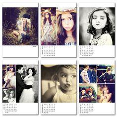2014 photo calendar template