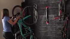 A unique and patented design means there's no lifting required. Using a pushing and pulling action to load and unload bikes, makes Steadyrack suitable for Bicycle Storage Shed, Bike Storage Rack, Bike Shed, Shed Storage, Garage Storage, Bicycle Decor, Bicycle Rack, Bicycle Design, Trike Bicycle