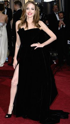 Forget Me Nots: The Most Talked About Dresses of the Past 20 Years - 2012: Angelina Jolie in Atelier Versace from #InStyle