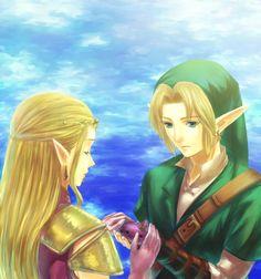 Zelda + Link