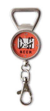 THE SIMPSONS DUFF BEER BOTTLE OPENER WITH CLOCK: Amazon.co.uk: Toys & Games