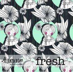 Lillestoff Woman Fresh Organic Jersey 50cm x 150cm